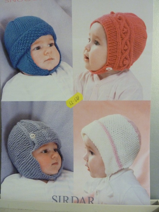 Babies Assorted Hats 1366