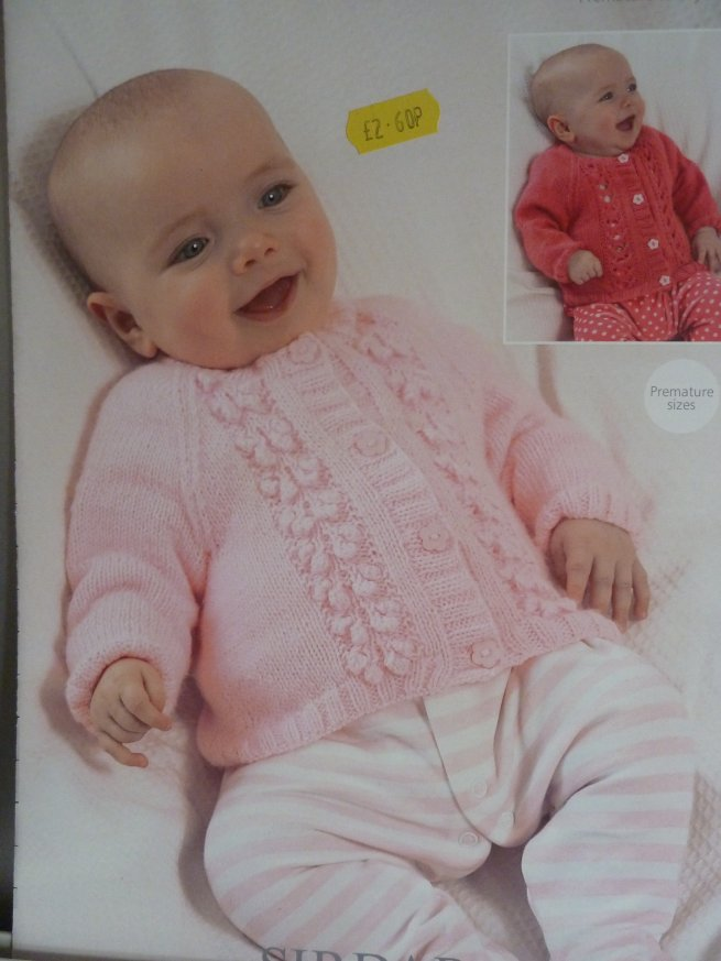 Babies 4 ply knitting pattern 1372