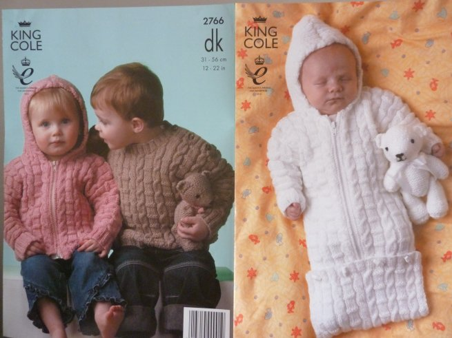 King Cole Babies double Knitting Pattern 2766