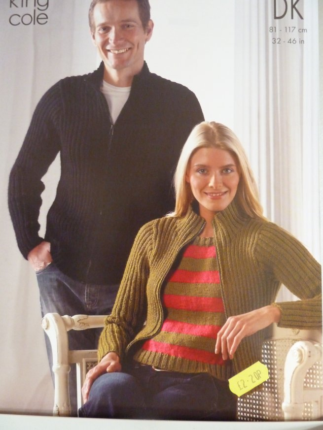 Unisex Double Knit Pattern 3017