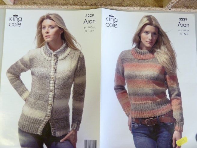 Aran - Knitting wool and accessories, fabric, embroidery, haberdashery