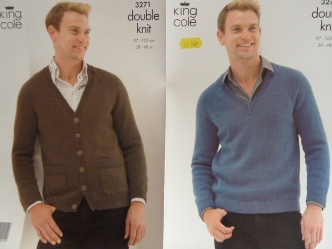 Men's Double Knit Pattern 3271