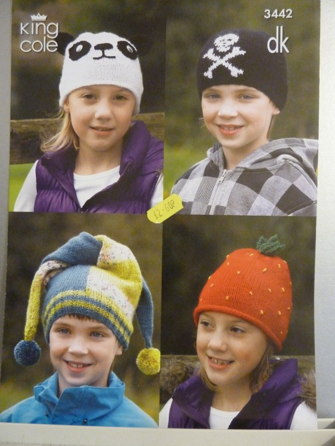 Kids Novelty Hats 3442