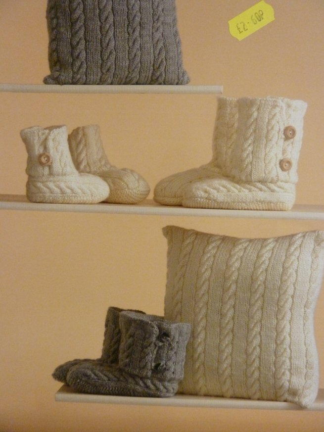Knitted Slippers 3471