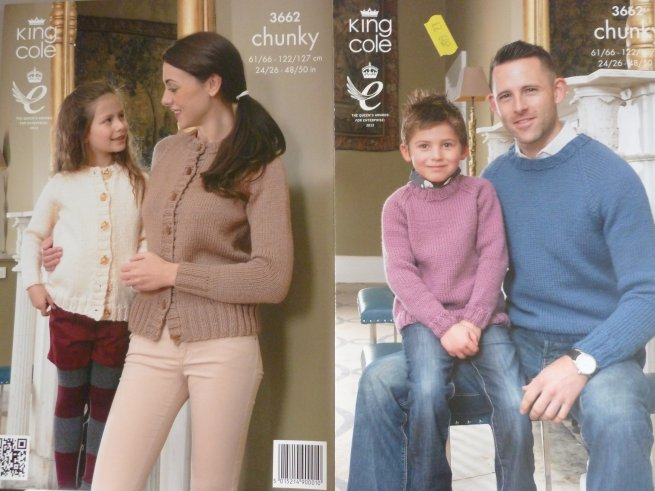 Chunky Family Pattern 3662