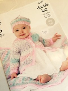 King Cole double knit childs pattern 4117
