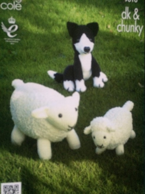 Sheep /Dog toys 9010