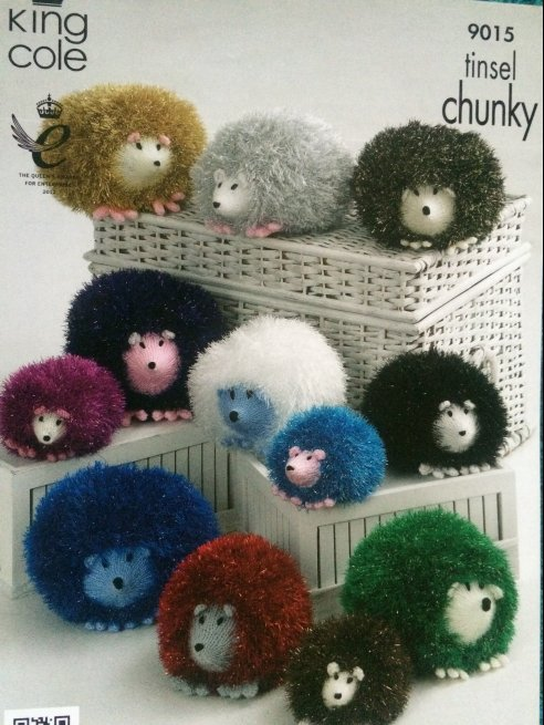 Tinsel Hedgehogs 9015