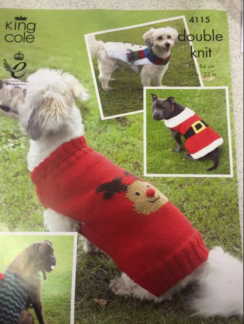 Christmas Dog Coats 4115