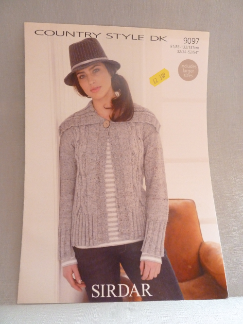 Jacket in DoubleKnit 9097