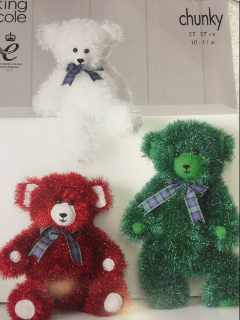 Tinsel Teddy 9021